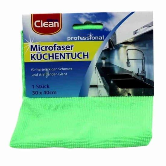Mikrofaser Küchentuch Clean 30x40cm - hellgrün