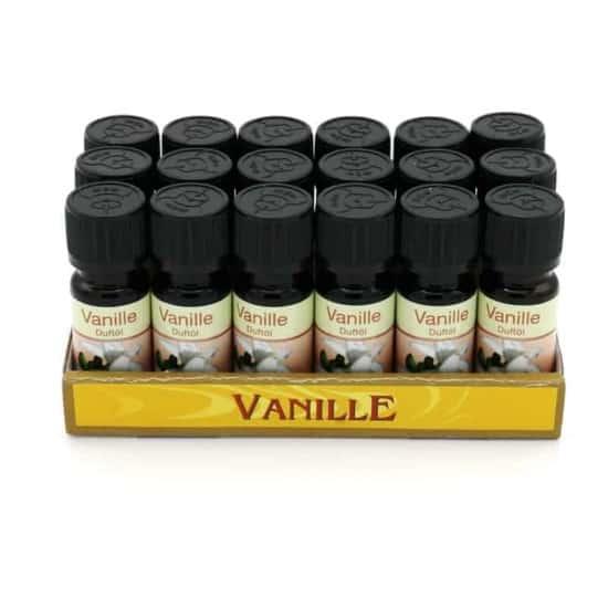 Duftöl Vanille 10ml in Glasflasche