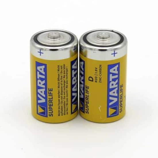 Batterie VARTA Superlife Mono - Typ D - 2 Stück | goopri