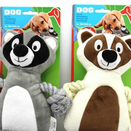 Hundespielzeug Waschbär